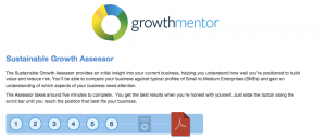 Growth Mentor screen image